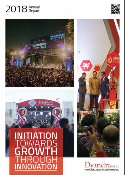 Annual report 2018 PT. Dyandra Media International Tbk – PenulisAnnualReport.com